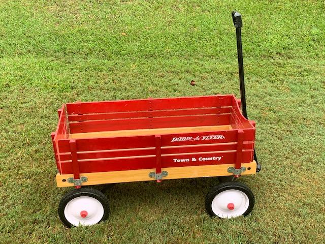 Radio Flyer Wooden Wagon